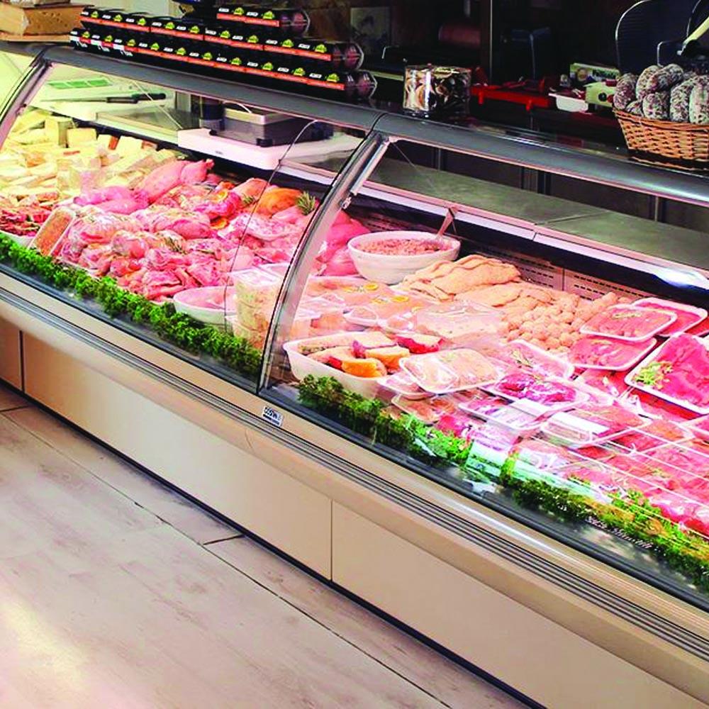 bancone carne macelleria