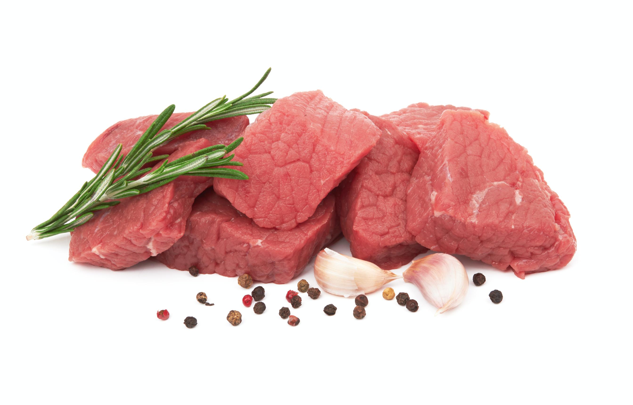 quattro bocconcini di carne con rosmarino pepe e aglio